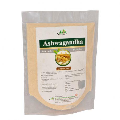 Pulver av Ashwagandha
