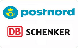 snabb leverans med Postnord eller Schenker